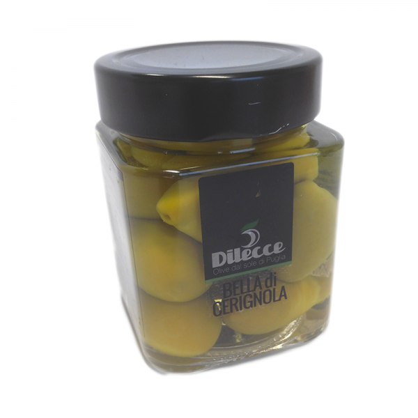 "Zelené olivy ""Castelvetrano"""