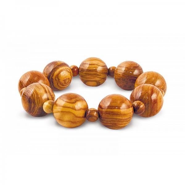 Náramek z olivového dřeva