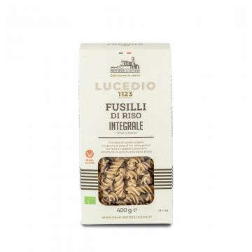 Rýžové celozrnné Fusilli - bezlepkové těstoviny 400g
