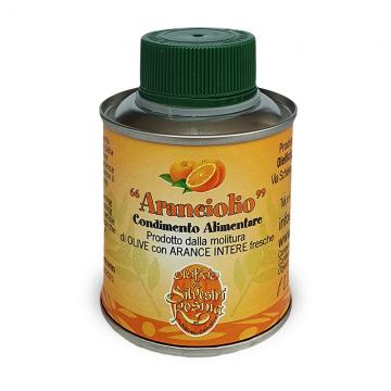Extra panenský olivový olej s příchutí pomeranče 0,1l