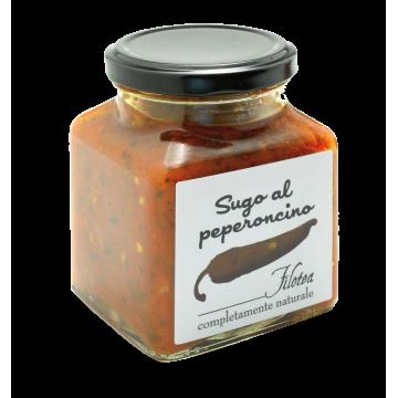 Rajčatová omáčka s chilli papričkou 280g