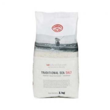 Tradiční mořská sůl 1kg v tašce - hrubá