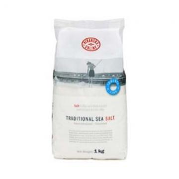Tradiční mořská sůl 1kg v tašce - jemná, jodizovaná