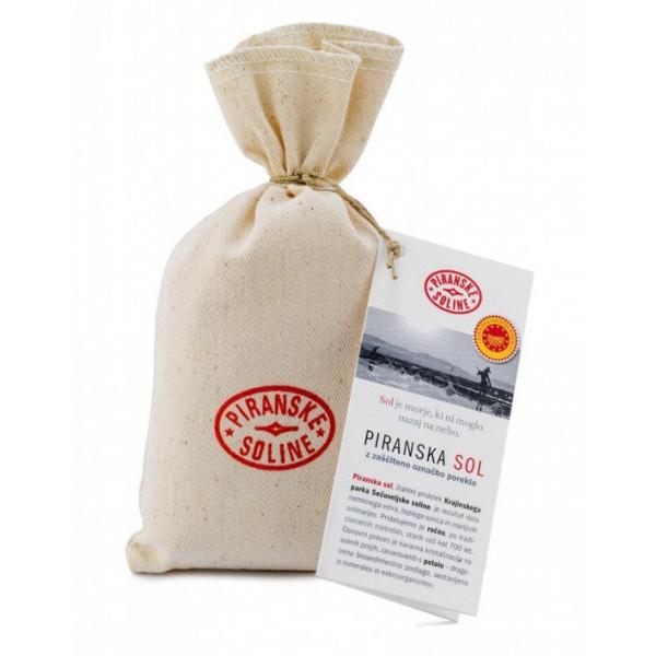 Piranská sůl 250g v plátěné tašce