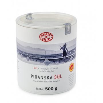 Piranská sůl 500g v kartonové tubě