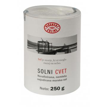 Mořská sůl FLEUR DE SEL v papírové tubě 250g