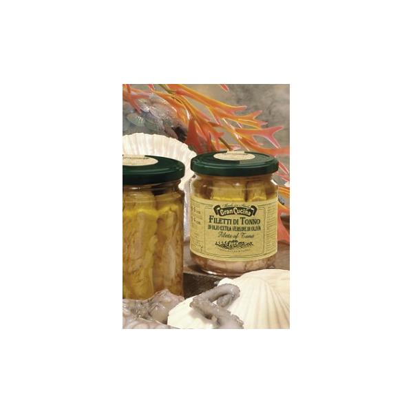 Filety tuňáka v olivovém oleji 185g