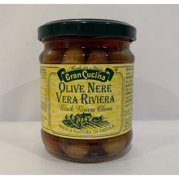 Olivy černé Riviera 180g