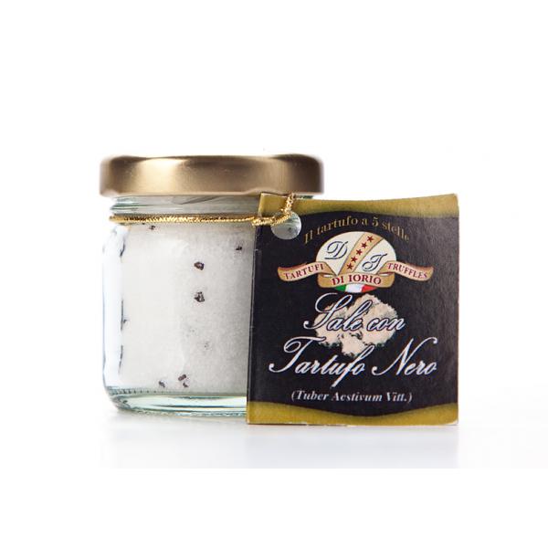 Sůl s černým letním lanýžem
