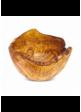 Ručně vyřezávaná miska z olivového dřeva