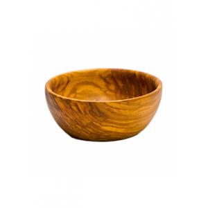 Miska dřevěná vyřezávaná průměr 12 cm