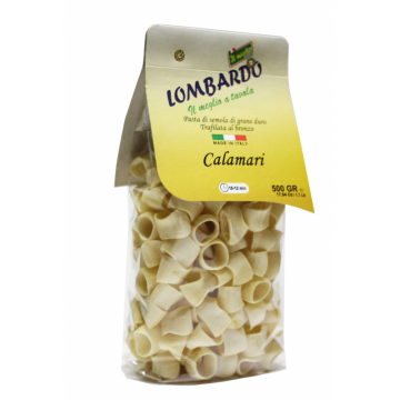 Těstoviny sušené Calamari 500gr