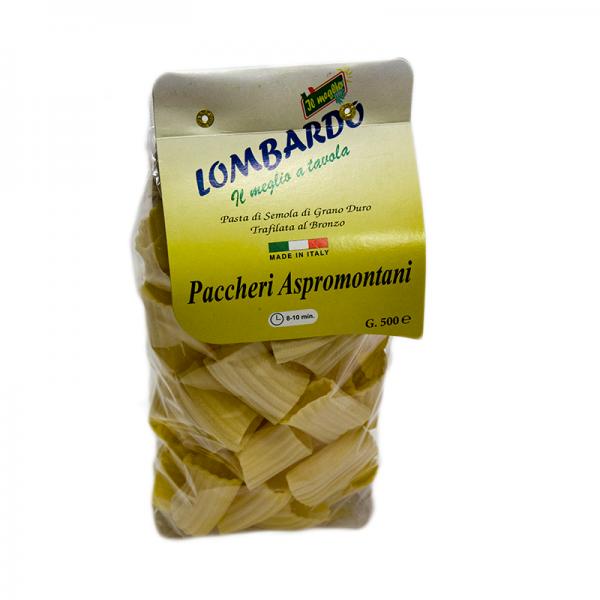 Těstoviny sušené Paccheri 500gr