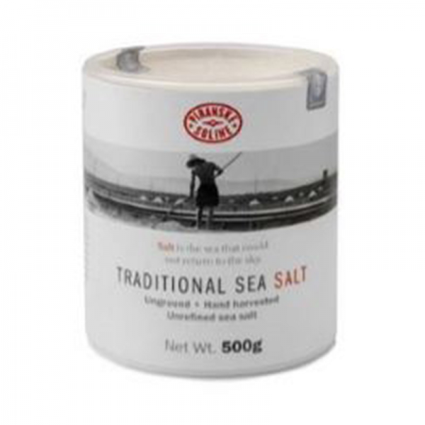 Tradiční mořská sůl 500g v kartonové tubě