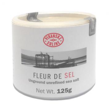 Mořská sůl FLEUR DE SEL v papírové tubě 125g