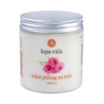 Solný peeling - Růže PET