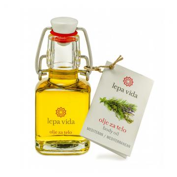 Tělový olej - Středozemí