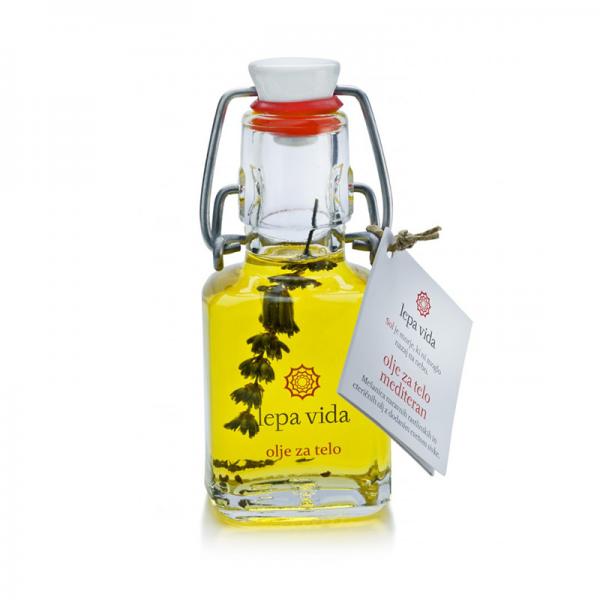 Tělový olej - Levandule