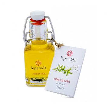Tělový olej - Verbena