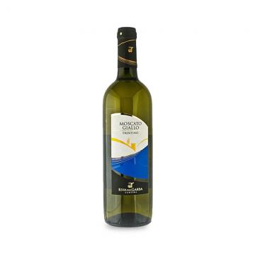 Víno bílé MOSCATO GIALLO DOC 0,75 l CLASS