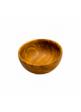 Miska dřevěná vyřezávaná průměr 12 cm 2