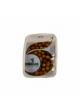 Olivy černé Leccino celé ve slaném nálevu 600 g
