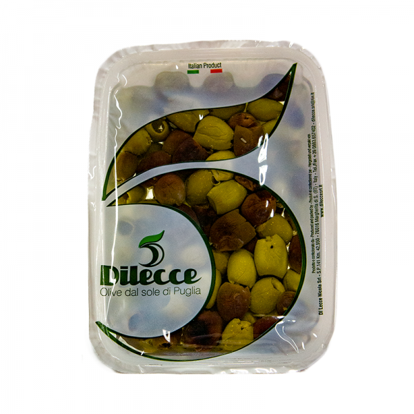 Olivy míchané bez pecky se středomořským kořením