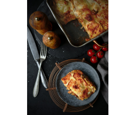 Lasagne s tuňákem a olivami