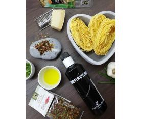 Těstoviny Aglio Olio e Peperoncino ze sušené směsi Corte Del Chianti